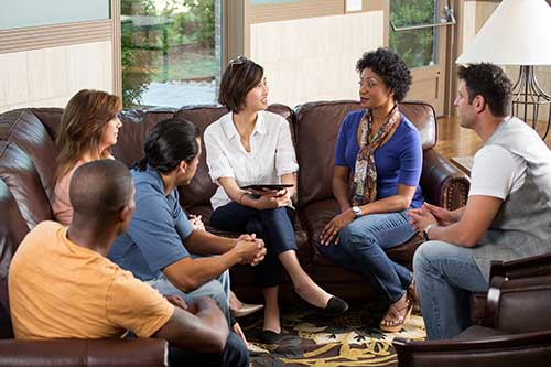 group therapy in Residential Addiction Treatment Program
